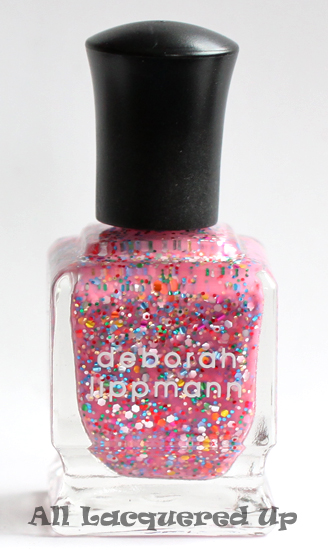 deborah lippmann candy shop nail polish glitter from the get this party started set for the nordstrom anniversary sale