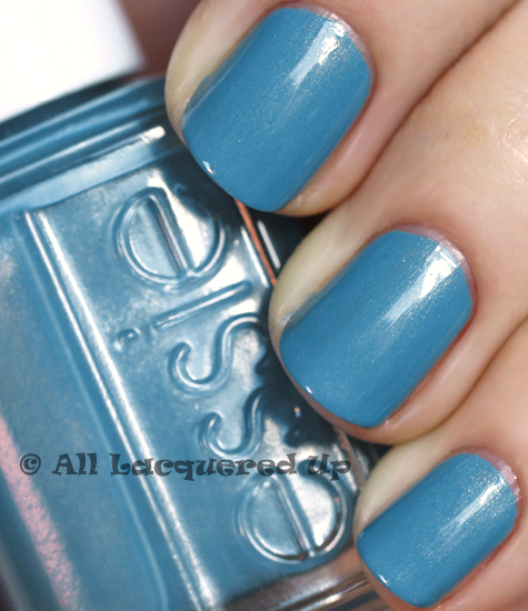 essie coat azure nail polish swatch french affair spring 2011 ALUs 365 of Untrieds   Essie Coat Azure from the French Affair Spring 2011 Collection
