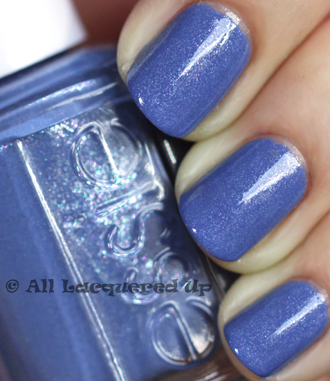 essie smooth sailing nail polish swatch from the essie brazilliant collection for summer 2011