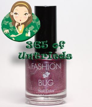 fashion bug boysenberry nail polish ALUs 365 of Untrieds   Fashion Bug Boysenberry