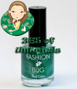 fashion bug shamrock nail polish ALUs 365 of Untrieds   Fashion Bug Shamrock