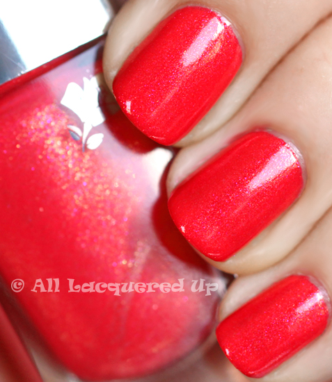 lancome sarong nail polish swatch lancome le vernis for summer 2011