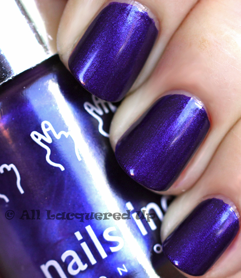 nails inc the mall nail polish swatch ALUs 365 of Untrieds   Nails Inc The Mall