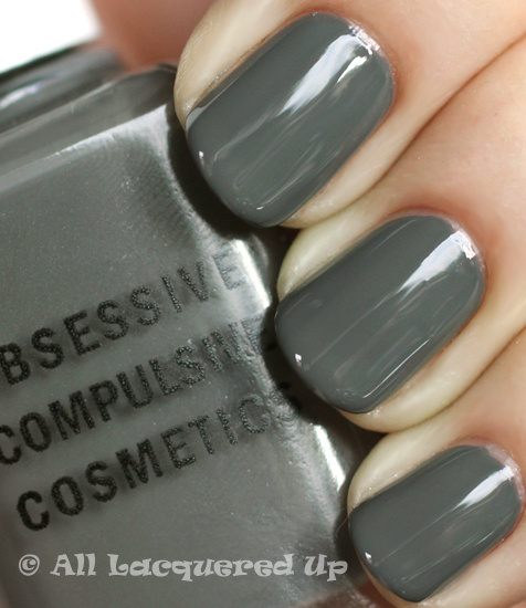 obsessive compulsive cosmetics dangerous nail polish swatch from occ makeup