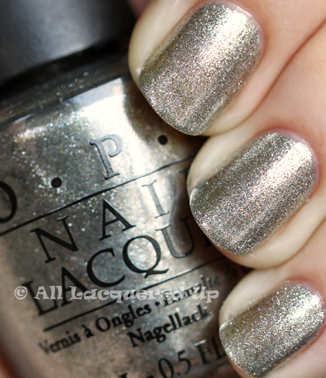 opi your royal shine ness nail polish swatch opi glam slam england ALUs 365 of Untrieds   OPI Your Royal Shine ness & Servin Up Silver from the OPI Glam Slam! England Collection