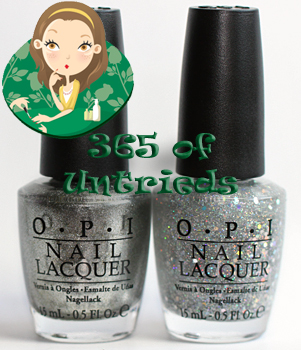 opi your royal shine-ness and opi servin up silver nail polish from the opi glam slam! england collection for summer 2011