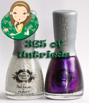 painted nail nubar legendary lavender moon drops ALUs 365 of Untrieds   The Painted Nail Legendary Lavender & Moon Drops Top Coat