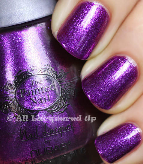 the painted nail by nubar legendary lavender nail polish swatch by nail files star katie cazorla