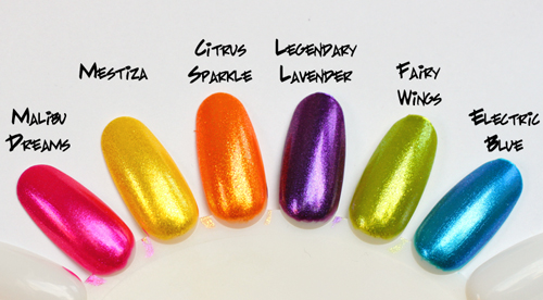 the painted nail by nubar spring summer 2011 collection as seen on nail files starring katie cazorla