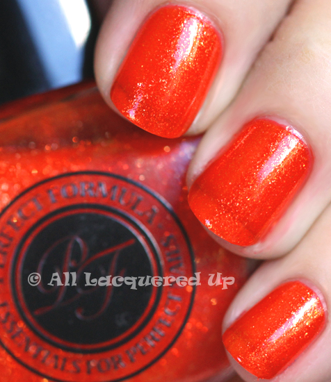 perfect color calypso nail polish swatch from perfect formula nail polish
