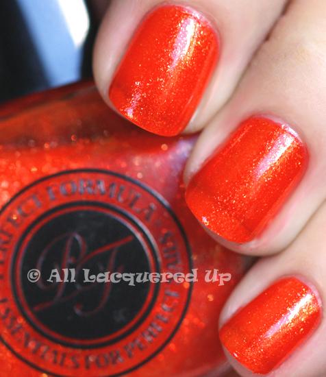 perfect color calypso nail polish swatch from perfect formula nail polish