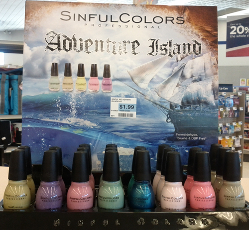 sinful adventure island summer 2011 collection that looks like opi pirates of the caribbean
