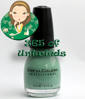 sinful open seas nail polish sinful adventure island ALUs 365 of Untrieds   Sinful Colors Open Seas from the Adventure Island collection