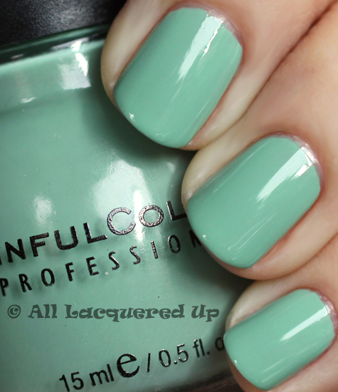 sinful open seas nail polish swatch from the sinful adventure island collection