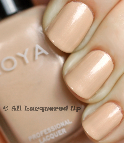 zoya minka nail polish swatch from the zoya touch collection 2011
