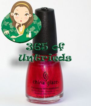 china glaze 108 degrees nail polish island escape summer 2011 ALUs 365 of Untrieds   China Glaze 108 Degrees from the Island Escape Collection