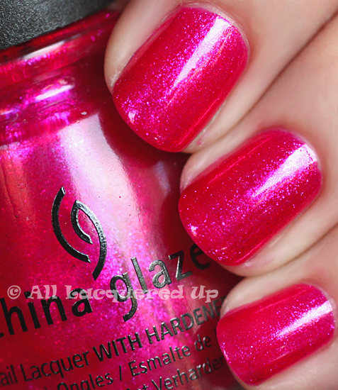 china glaze 108 degrees nail polish swatch island escape summer 2011 ALUs 365 of Untrieds   China Glaze 108 Degrees from the Island Escape Collection