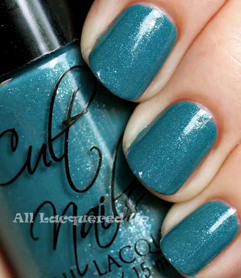 cult nails let me fly nail polish swatch from the cult nails a day at the races collection