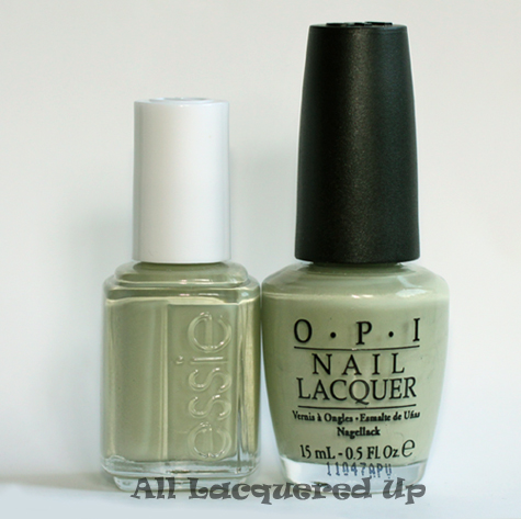 essie da bush nail polish comparison with opi stranger tides nail polish dupe