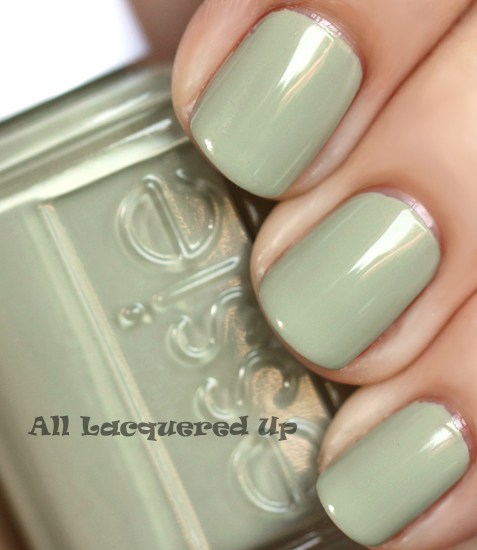 essie da bush nail polish swatch from the essie resort 2011 collection
