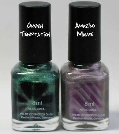 lcn green temptation amazing mauve magnetic nail polish