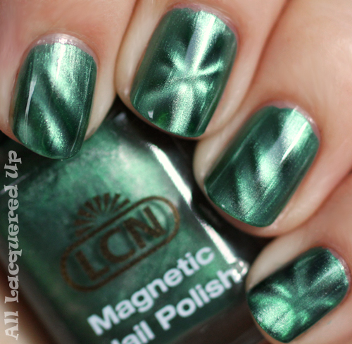 lcn green temptation magnetic nail polish swtach ALUs 365 of Untrieds   LCN Magnetic Nail Polish