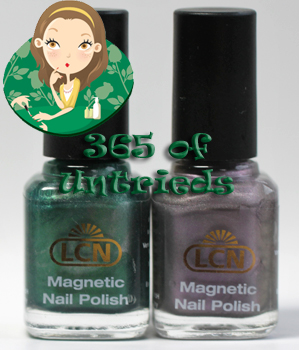 lcn magnetic nail polish ALUs 365 of Untrieds   LCN Magnetic Nail Polish