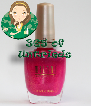 milani pink out loud nail polish ALUs 365 of Untrieds   Milani Pink Out Loud Nail Polish
