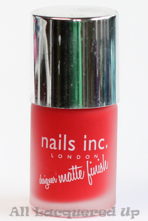 nails inc gatwick matte nail polish