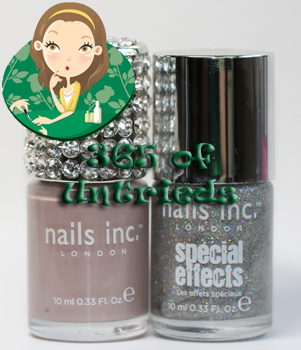 nails inc porchester square electric lane holographic nail polish top coat