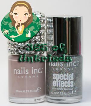 nails inc porchester square electric lane holographic nail polish top coat