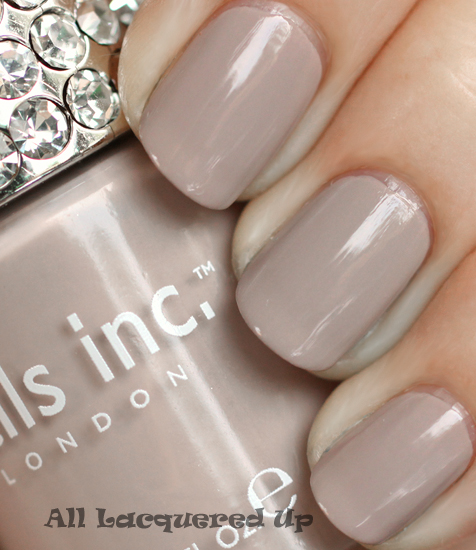 nails inc london porchester square nail polish swatch nails inc crystal colour