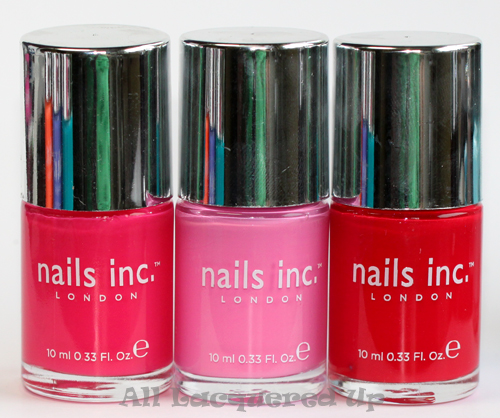 nails inc shoreditch, nails inc brompton place and nails inc st james nail-polish