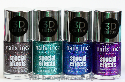 nails inc special effects 3d glitter nail polish