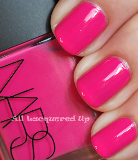 ALU\'s 365 of Untrieds - NARS Schiap Nail Polish : All Lacquered Up