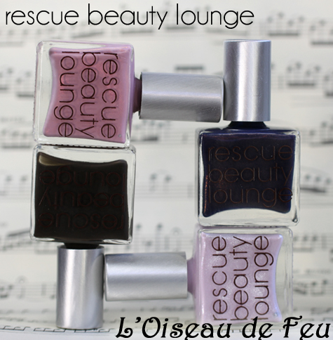 rescue beauty lounge L'Oiseau de Feu nail polish collection for pre-fall 2011