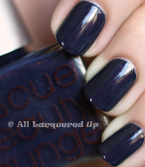 rescue beauty lounge piu mosso nail polish swatch pre fall 2011 Rescue Beauty Lounge LOiseau de Feu Pre Fall 2011 Collection Review & Swatches
