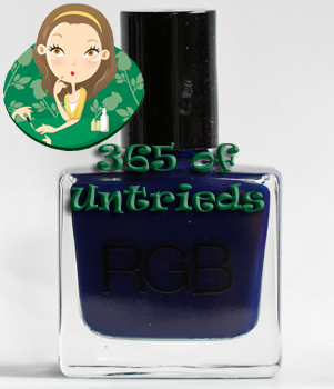 rgb cosmetics 1996 need supply co denim blue nail polish ALUs 365 of Untrieds   RGB Cosmetics 1996 Need Supply Co