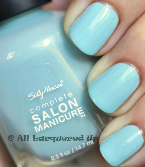 sally hansen barracuda nail polish swatch from the tracy reese for sally hansen spring 2011 collection