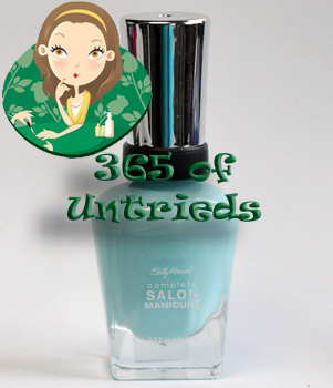 sally hansen barracuda nail polish from the tracy reese for sally hansen spring 2011 collection