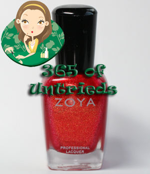 zoya kimmy nail polish sunshine summer 2011 ALUs 365 of Untrieds   Zoya Kimmy from the Sunshine Collection for Summer 2011