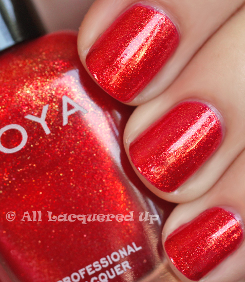 zoya kimmy nail polish swatch from the zoya sunshine collection for summer 2011