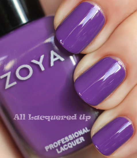 zoya mira nail polish swatch from the zoya summertime collection for summer 2011