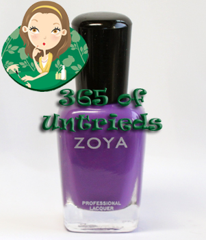zoya mira nail polish zoya summertime 2011 ALUs 365 of Untrieds   Zoya Mira from the Summertime Collection
