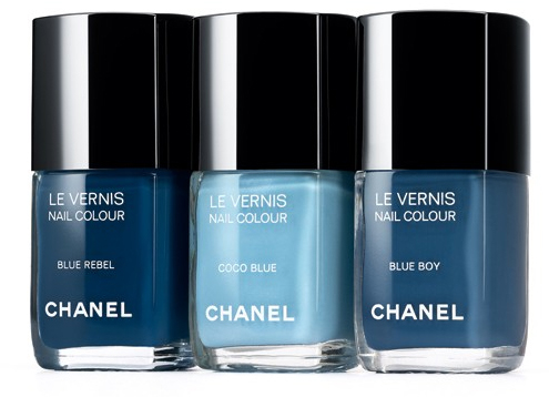 chanel les jeans de chanel blue rebel coco blue blue boy nail polish fashion's night out