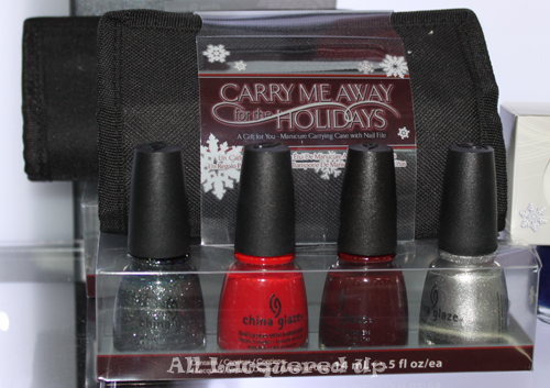 china glaze carry me away for the holidays gift set 2011