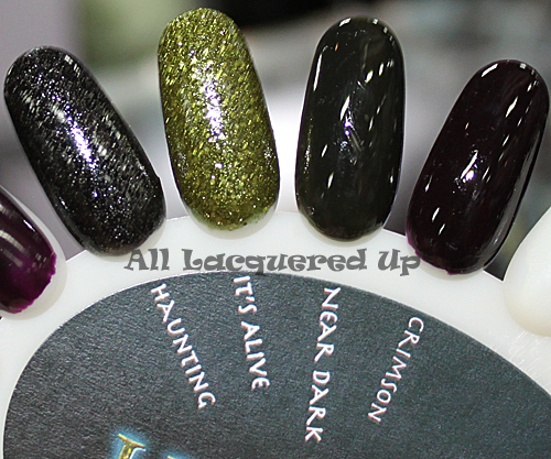 china glaze haunting nail polish swatch halloween 2011 collection