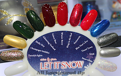 china glaze let it snow holiday 2011 nail polish swatch