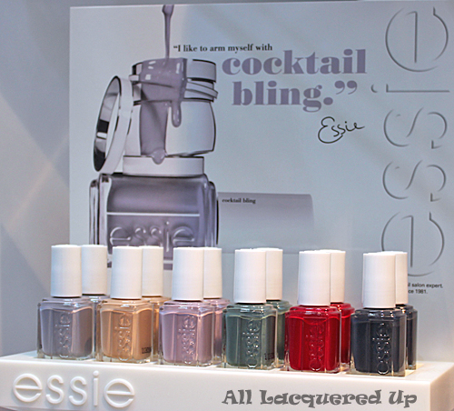 essie cocktail bling nail polish collection winter 2011 Scenes from Cosmoprof   A Look At Essie Holiday & Winter 2011