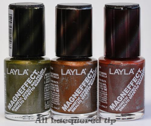 layla magneffect magnetic nail polish golden nugget golden bronze brown sugar LAYLA, youve got me on my knees! Layla Magneffect Magnetic Nail Polish